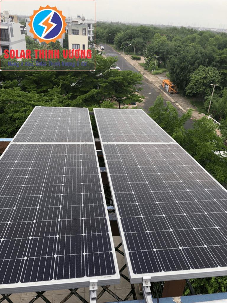 Hệ thống pin năng lượng mặt trời cho hộ gia đình