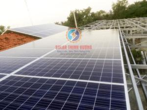 Thi công điện năng lượng mặt trời áp mái cho hộ gia đình