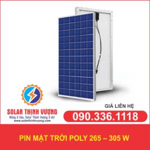 Pin năng lượng mặt trời POLY 265- 305W