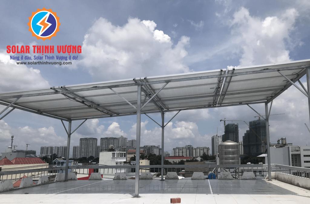 Hệ thống điện năng lượng mặt trời cho gia đình
