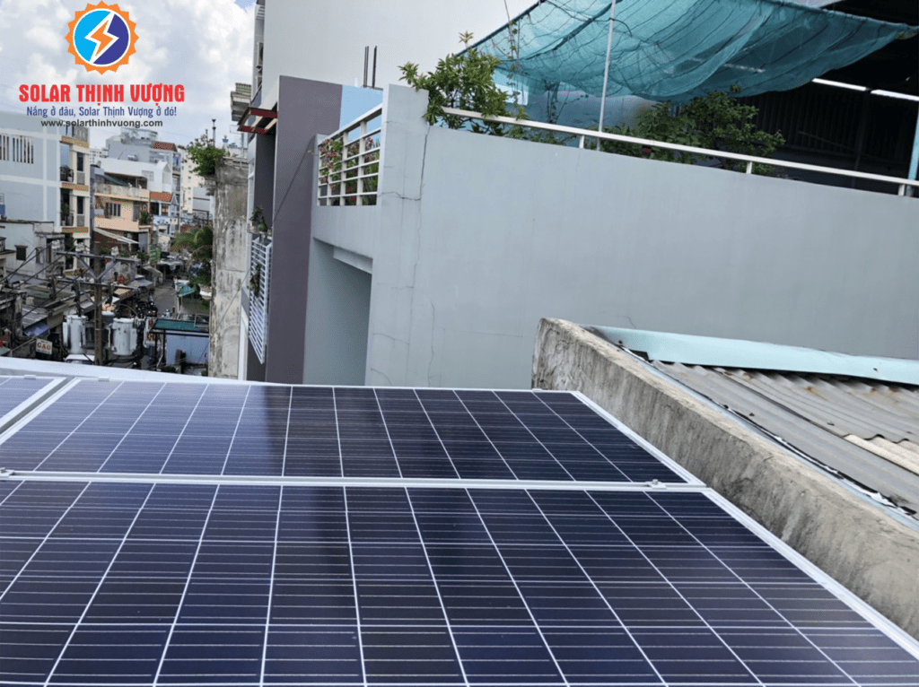 Lắp đặt pin năng lượng mặt trời cho gia đình