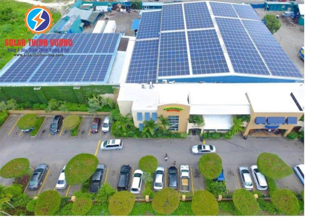 Hệ thống điện năng lượng mặt trời cho doanh nghiệp