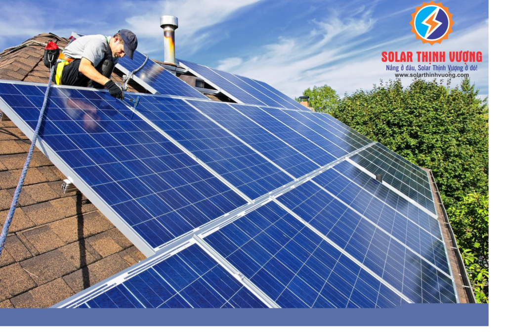 Hệ thống điện năng lượng mặt trời áp mái