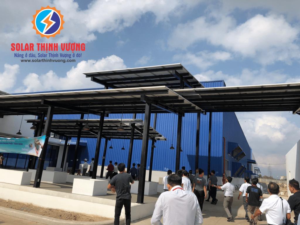 Hệ thống điện năng lượng điện năng lượng mặt trời của doanh nghiệp