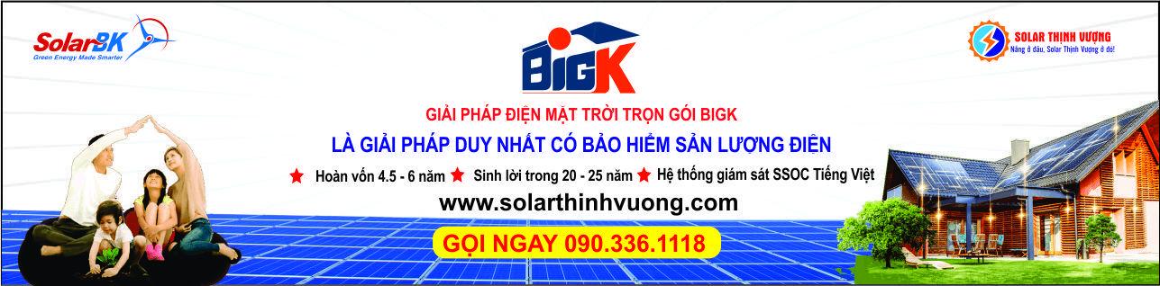 Giải pháp điện mặt trời BigK