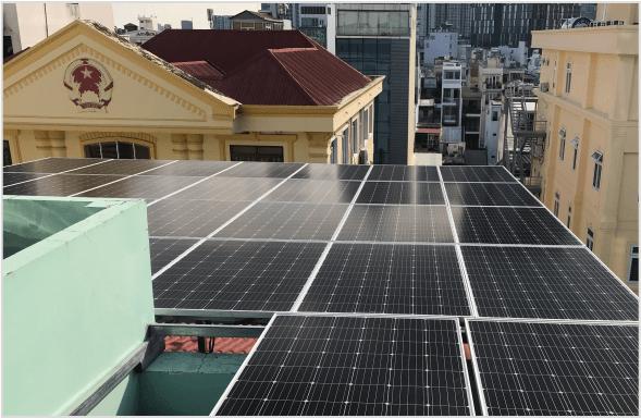Điện mặt trời cho hộ gia đình