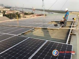 Solar Thịnh Vượng thi công Lắp đặt điện mặt trời cho nhà xưởng Nhật