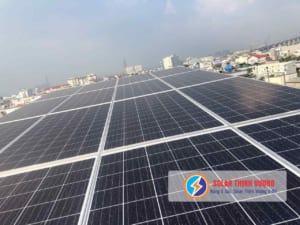 Điện mặt trời lắp đặt tại Quận 7