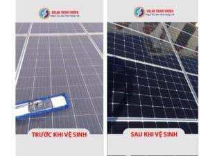 Vệ sinh, bảo trì hệ thống điện mặt trời Q9