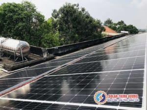 Điện mặt trời lắp đặt tại khu vực Tân Thuận - Quận 7