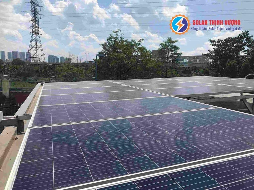 Lắp đặt điện mặt trời áp mái