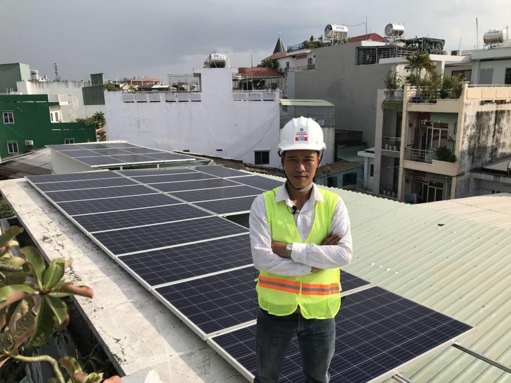 Thi công, lắp đặt điện mặt trời - Solar Thịnh Vượng