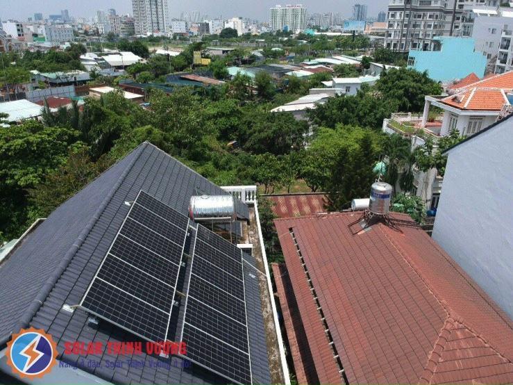 Hệ thống điện mặt trời tại Quận 7