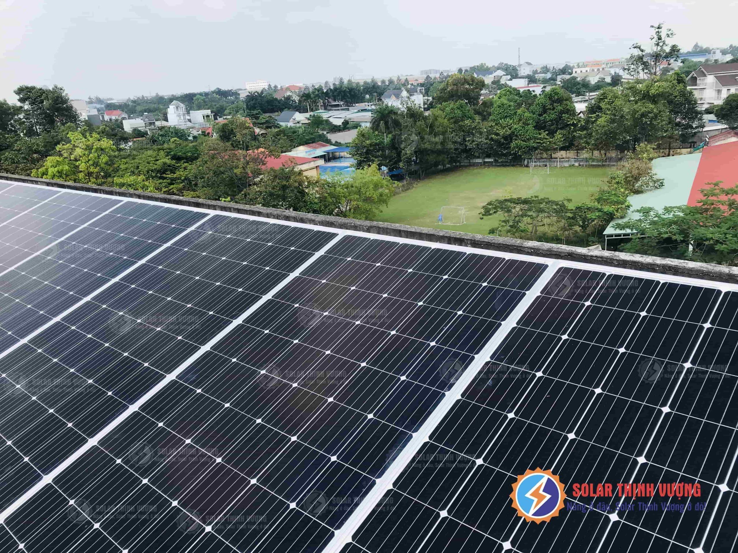 Điện mặt trời áp mái tại củ chi